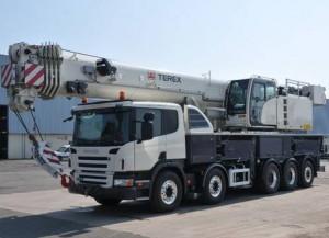 омпания Terex выпустит новый 100-тонный автокран