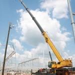 Новый 150-тонный Grove RT9150E