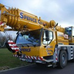 Новые краны Liebherr в компании Spence Crane Hire