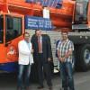 Новые краны Terex в компании Bruns Schwerlast