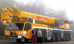 Два Terex 350/6 для компании Max Bögl