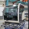 Новый дизайн кабин гусеничных кранов Terex