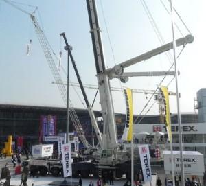Выставка Bauma 2012 в Китае