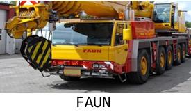 Продажа автокранов FAUN