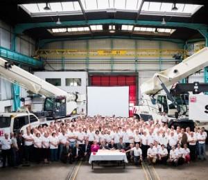Terex празднует 20-ти летнюю годовщину во Франции