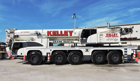 Два крана Terex для Kelley Equipment