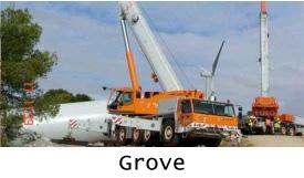 Продажа автокранов Grove