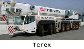 Автокраны Terex в продаже